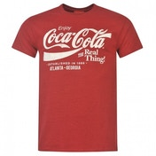 Coca-Cola Drink T-shirt Mens Red Medium