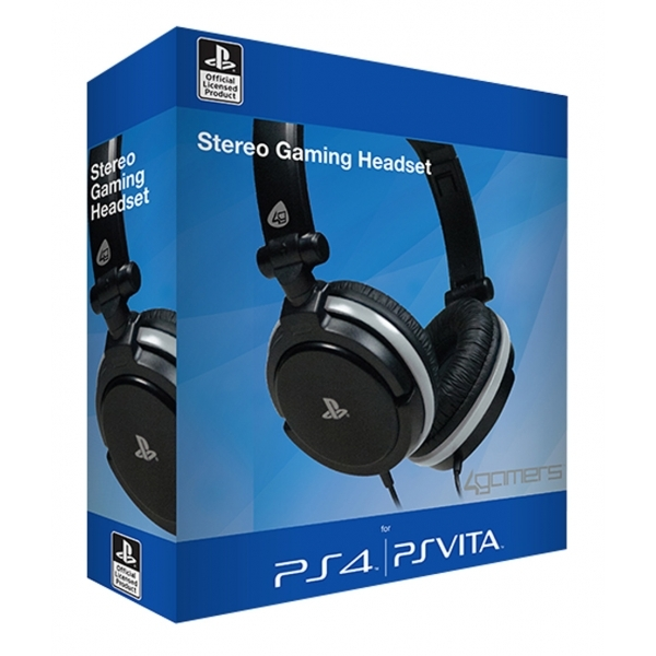 4Gamers Stereo Gaming Headset Dual Format  PS4 & PS Vita