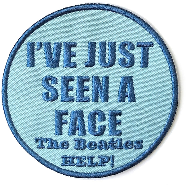 The Beatles - I've Just Seen A Face Standard Patch