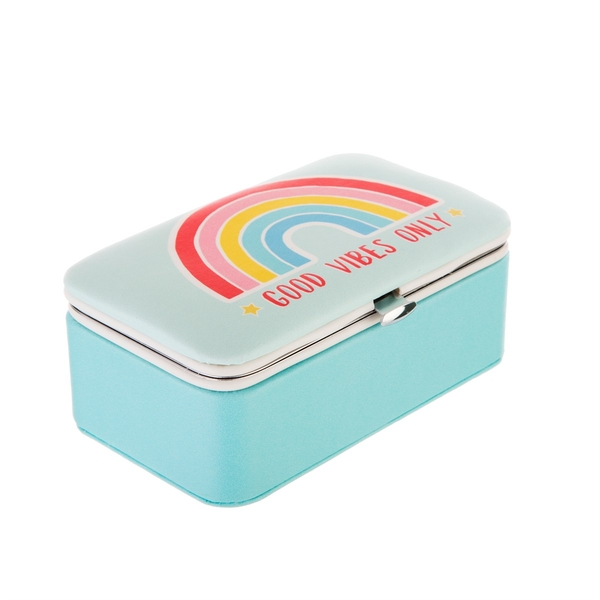Sass & Belle Chasing Rainbows Mini Travel Jewellery Box