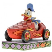 Road Rage (Donald Duck) Disney Traditions Figurine