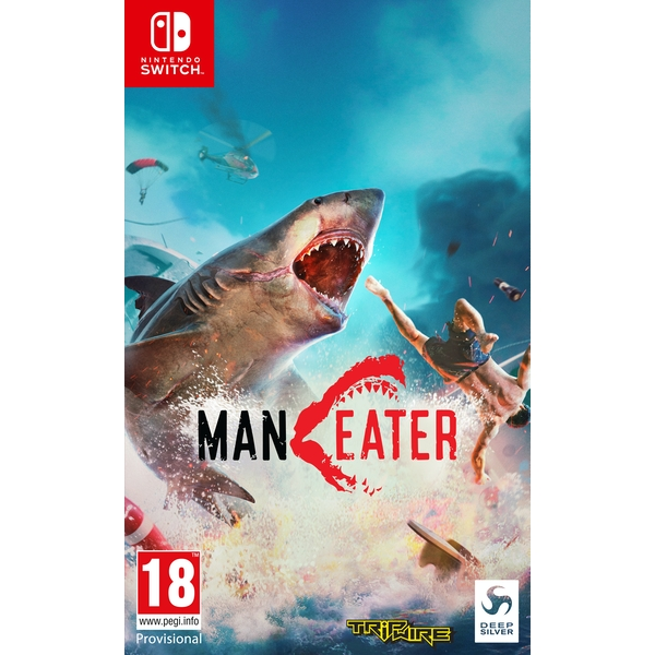 Maneater Nintendo Switch Game