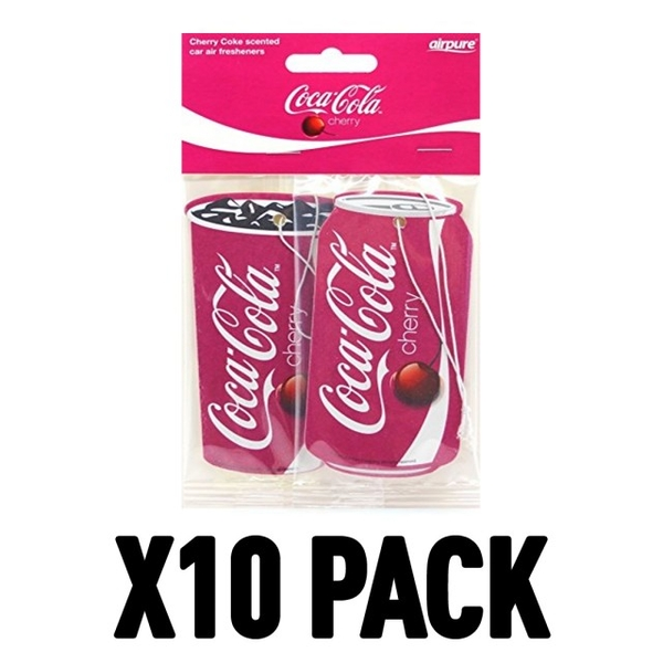 Coca-Cola Cherry (Pack Of 10) Air Freshener - Image 1