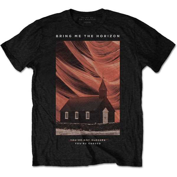 Bring Me The Horizon - You're Cursed Unisex Small T-Shirt - Black