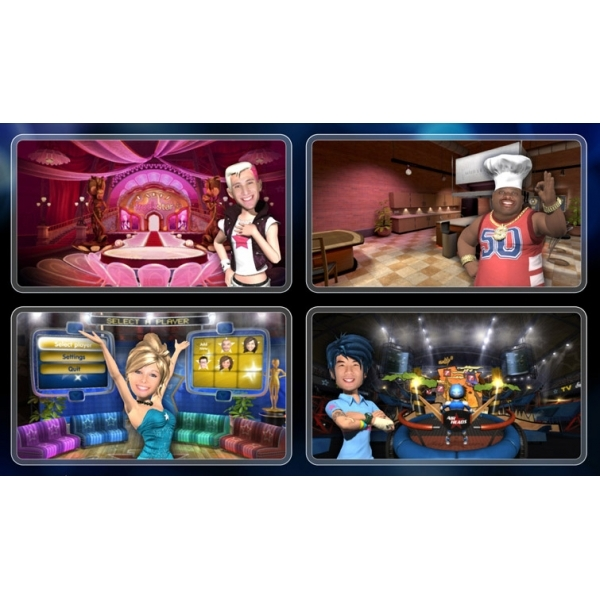 Playstation Move TV Superstars Game PS3 - Image 2