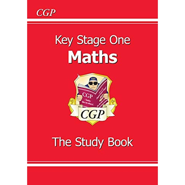 KS1 Maths Study Book (for the New Curriculum) by CGP Books (Paperback, 1999)