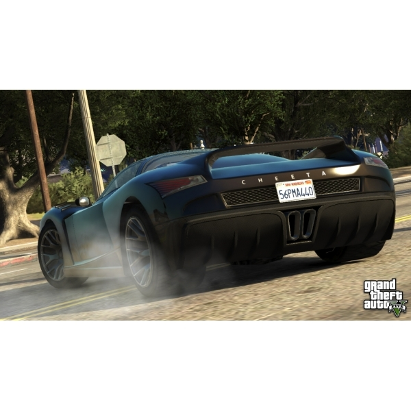 Grand Theft Auto GTA V (Five 5) (with Atomic Blimp DLC Code) Game Xbox 360 - Image 3