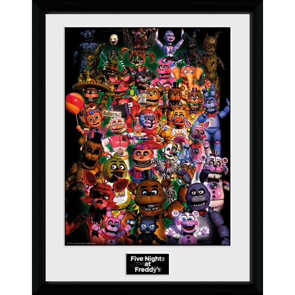 Five Nights At Freddy's - Ultimate Group Collector Print