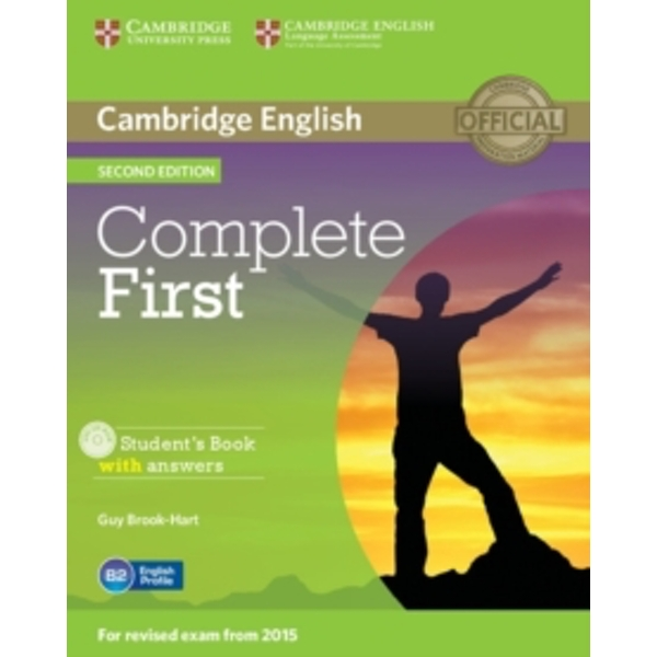 Complete First Student's Book with Answers with CD-ROM by Guy Brook-Hart (Mixed media product, 2014)