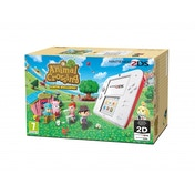 Nintendo 2DS Handheld Console Red & White with Animal Crossing New Leaf