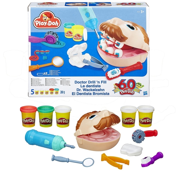 Playdoh Doctor Drill 'n Fill Set - Image 1