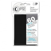 Ultra Pro Eclipse PRO-Matte Black Small 60 Deck Sleeves (Case of 12)