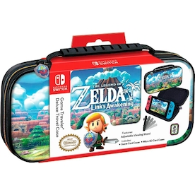 The Legend of Zelda Link's Awakening Game Traveler Deluxe Travel Case for Nintendo Switch