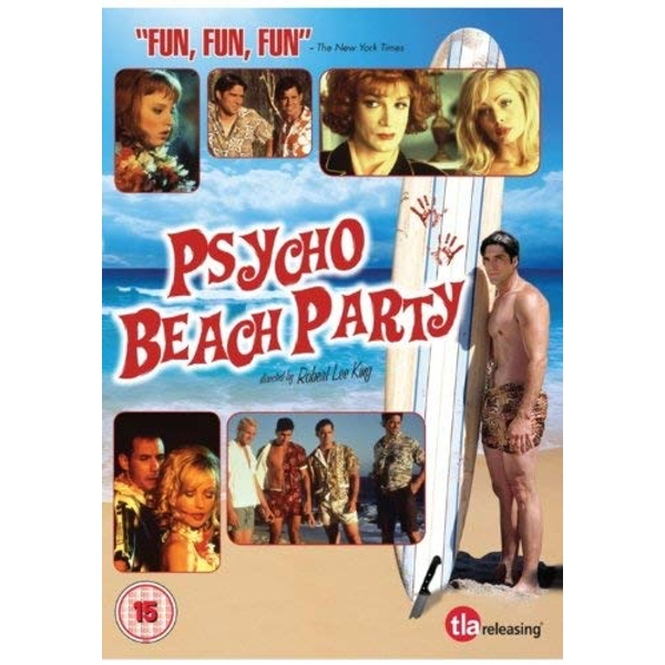 Psycho Beach Party DVD