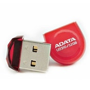ADATA 32GB USB 2.0 UD310 Dashdrive Durable Memory Pen, Micro, Rugged, Red