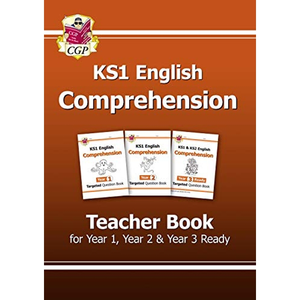 New KS1 English Targeted Comprehension: Teacher Book for Year 1, Year 2 & Year 3 Ready by Coordination Group Publications Ltd (CGP) (Paperback, 2017)