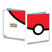 Ultra Pro Pokemon Pokeball 9 Pocket Trading Card Portfolio