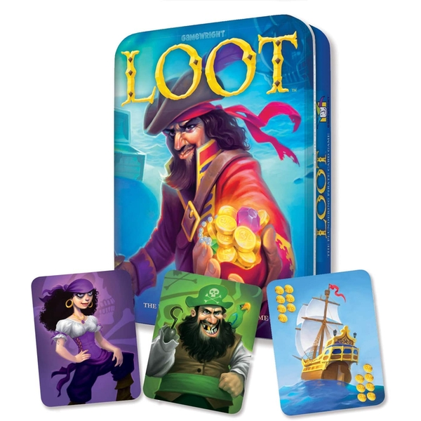 Loot Deluxe Tin Card Game
