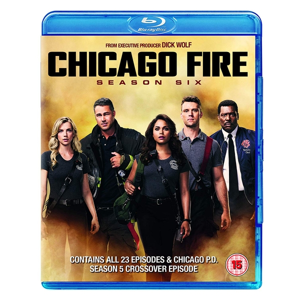 Chicago Fire: Season 6 Blu-ray