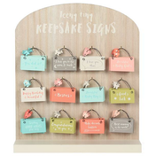 A Teenie Tiny Keepsake Sign Pack Of 60