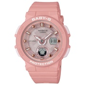 Casio BGA-250-4AER Baby-G Analogue & Digital Watch - Pink