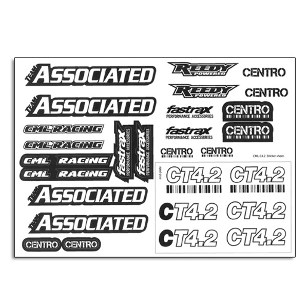 Centro Ct4.2 Logo Decal Sheet