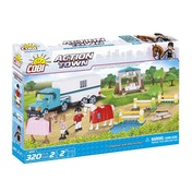 Cobi Action Town Equestrian Competition- 320 Toy Building Bricks