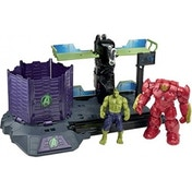Avengers Age Of Ultron 2.5 Inch Movie Action Set Hulk Buster Breakout