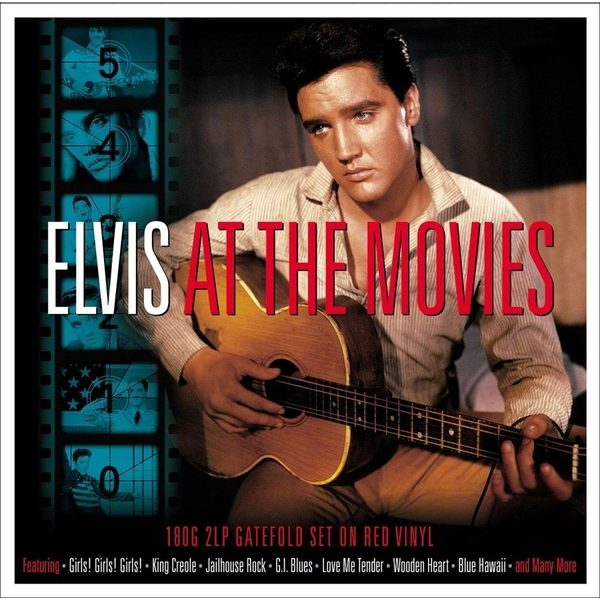 Elvis Presley - At The Movies Red  Vinyl