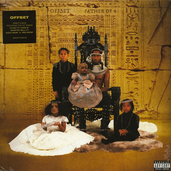 Offset - Father Of 4 Mustard Yellow Vinyl