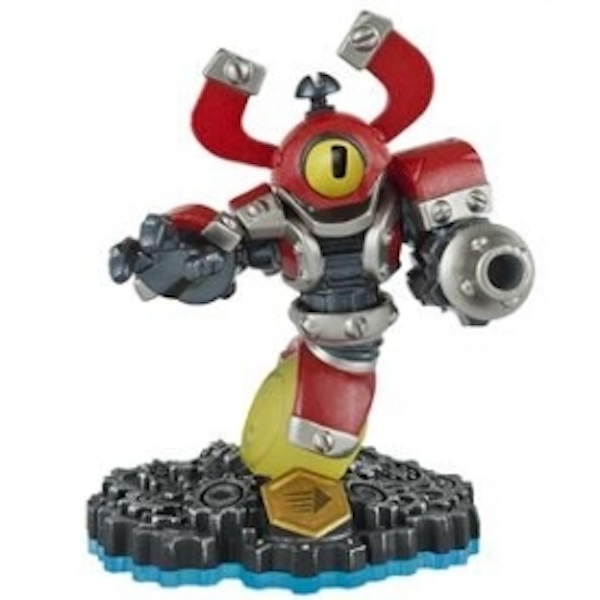Magna Charge (Skylanders Swap Force) Swappable Tech Character Figure Used - Like New