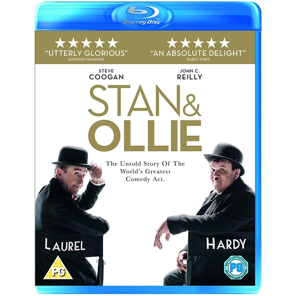 Stan and Ollie Blu-ray