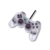 PS2 Official Dualshock Controller In Crystal