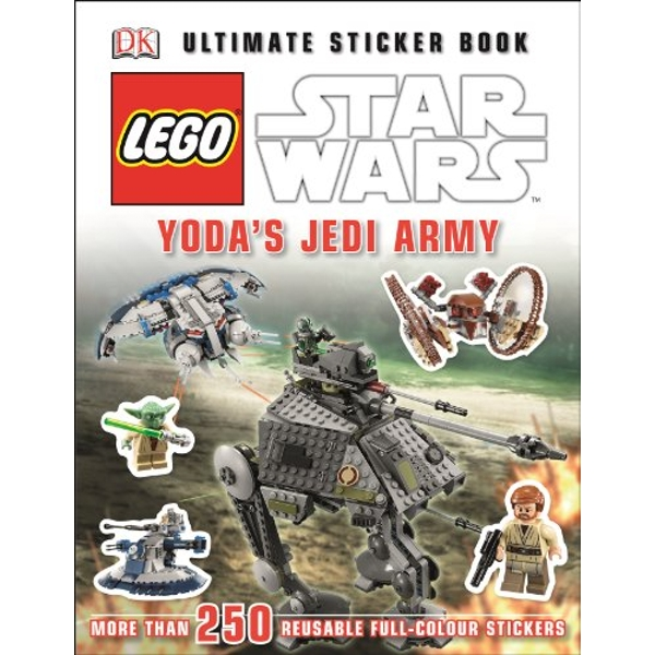 LEGO (R) Star Wars (TM) Yoda's Jedi Army Ultimate Sticker Book by DK (Paperback, 2014)