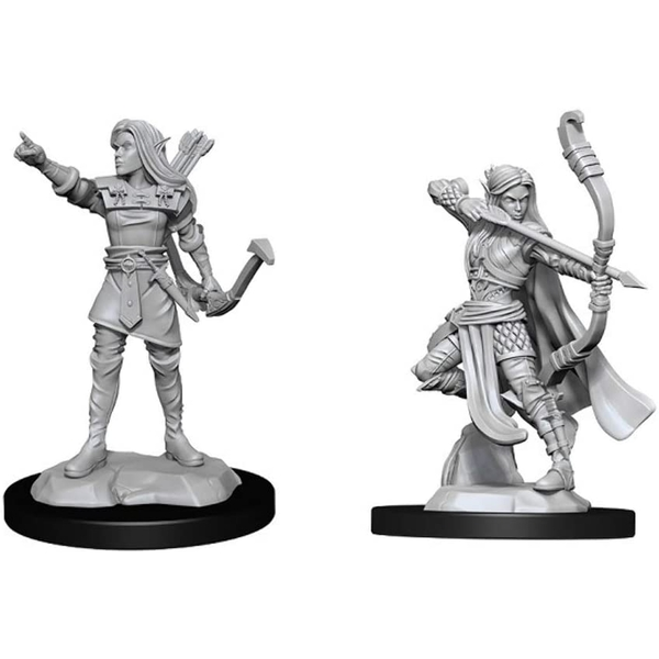 D&D Nolzur's Marvelous Unpainted Miniatures (W13) Elf Ranger Female