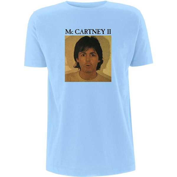 Paul McCartney - McCartney II Unisex XX-Large T-Shirt - Blue