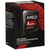 AMD A6 X2 7400K CPU, FM2 , 65W, 3.5GHz, Dual Core, 1MB Cache, Radeon R5 GFX, Black Edition
