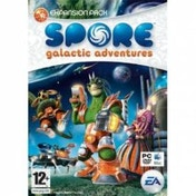 Spore Galactic Adventures Expansion Pack Game PC & MAC