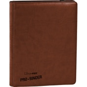 Ultra Pro Premium Pro Binder Brown