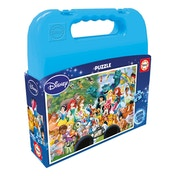Disney World Carry Case 100 Piece Jigsaw Puzzle
