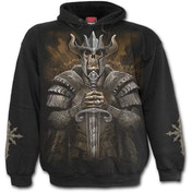 Viking Warrior Men's Large Hoodie - Black