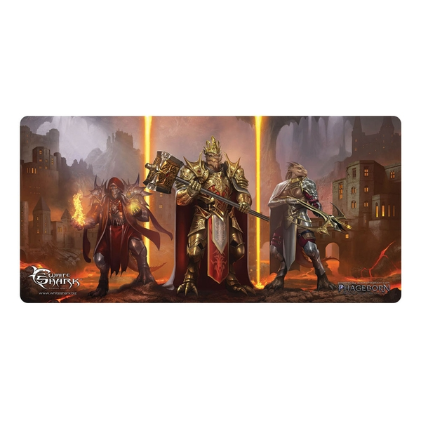 White Shark Gaming Tmp-112 Phageborn Drakkorith Gaming Mousepad (1375 x 675mm)