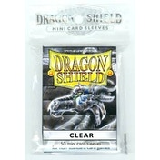 Dragon Shield Japanese size - Clear 50 Sleeves (10 Packs)