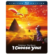 Pokemon The Movie: I Choose You! Steelbook Blu-ray