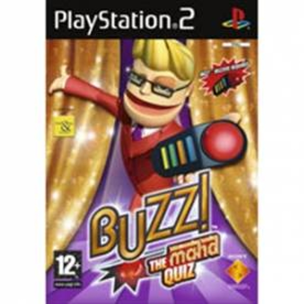 Buzz! The Mega Quiz Maha Edition Game With Buzzers PS2