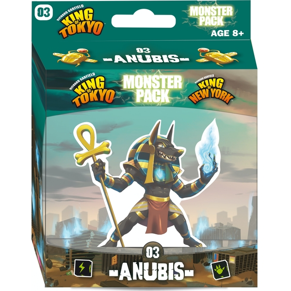 King of Tokyo Anubis Monster Pack Board Game