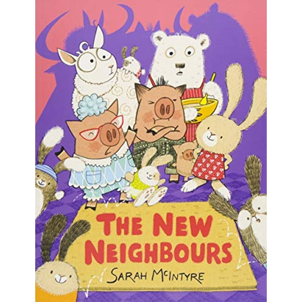 The New Neighbours  Paperback / softback 2018