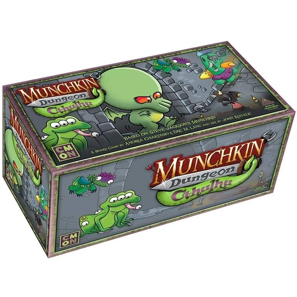 Munchkin Dungeon: Cthulhu Expansion Card Game