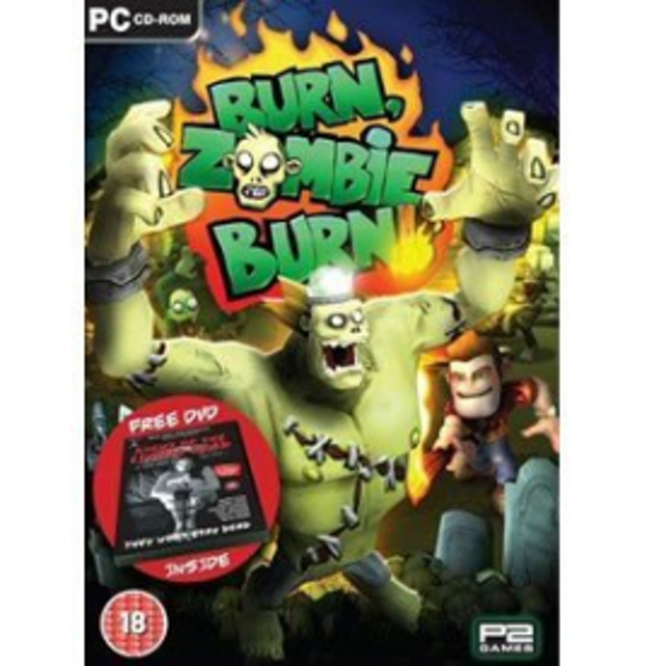 Burn Zombie Burn Game With Free Night Of The Living Dead DVD Game PC