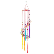 Chakra Style Dreamcatcher with Tassel Pack Of 2